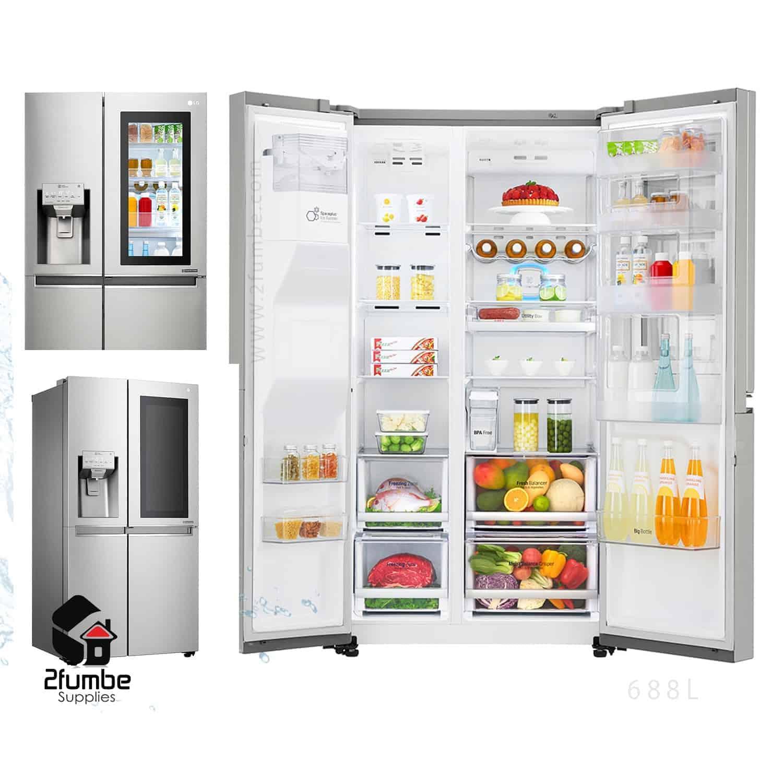 5f85959d6 LG InstaView fridge. LG-GC-X247CSAV